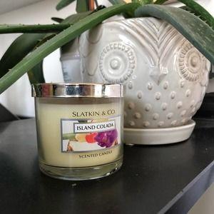 Pina Colada Bath & Body Works Candle Slatkin & Co
